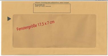 EDV Innenumschlag für Postzustellungsurkunden - kompakt