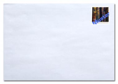 Umschlag C5 ohne Fenster, inkl. Porto 1,55 Euro ab 01.07