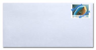 Umschlag DL o Fenster, inkl. Porto 0,80 ab 01.07