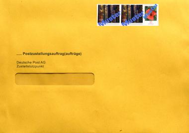 Überumschlag für Postzustellung - C5, inkl. 3.45 € Porto